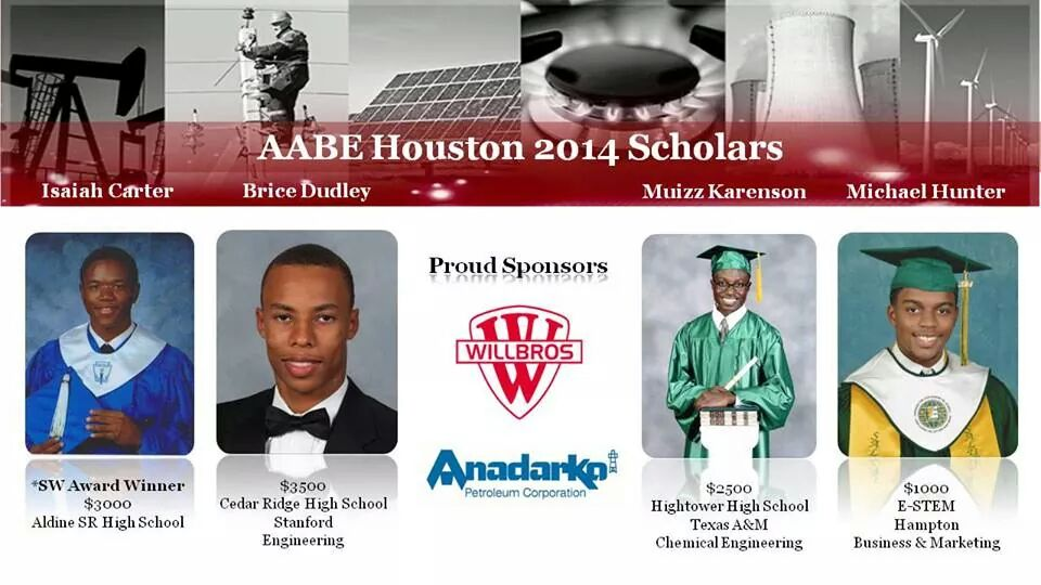 AABE Houston 2014 Scholars