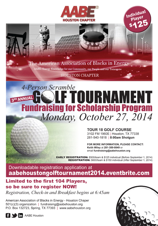 AABE Houston 3rd Annual Golf Classic