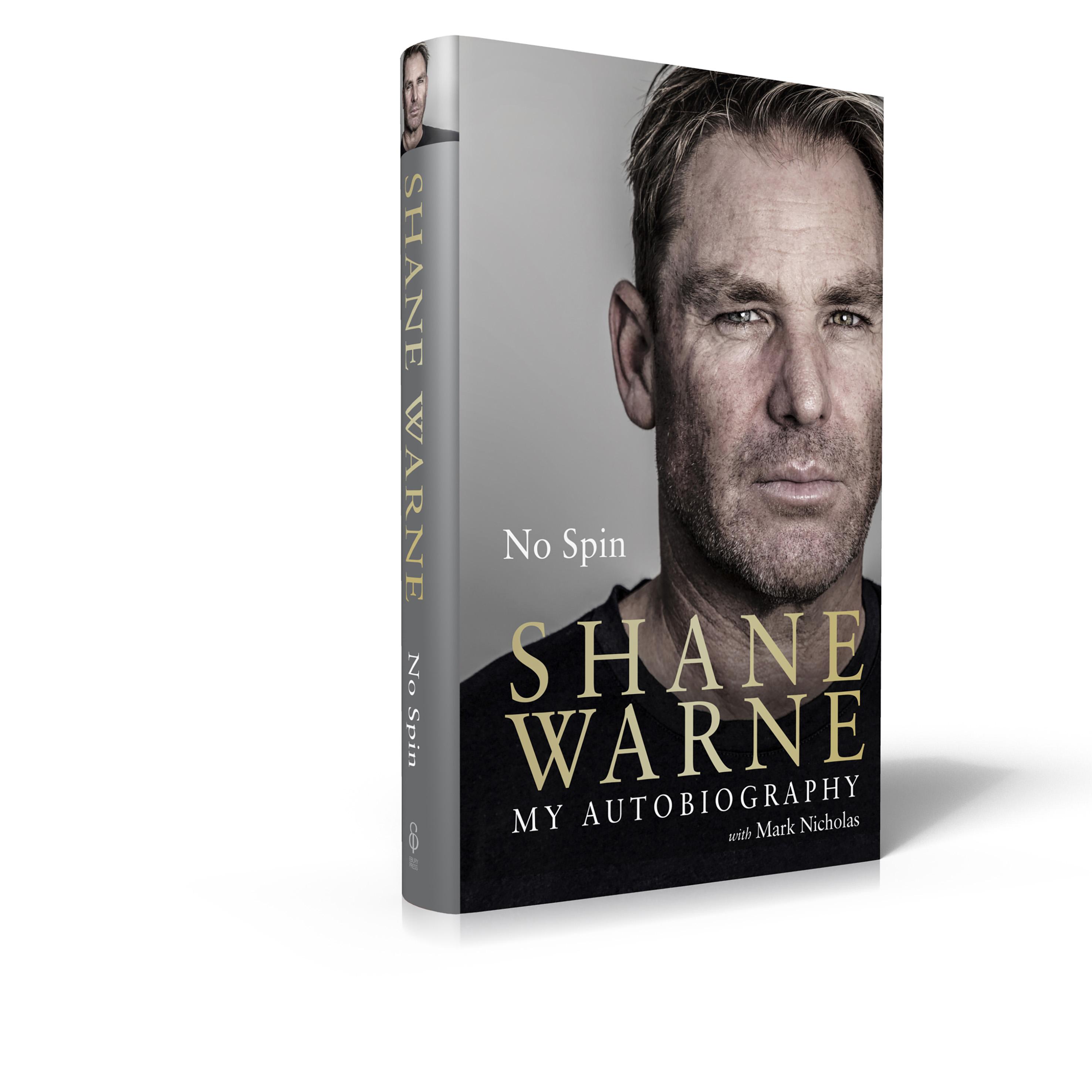 Shane Warne Autobiography 'No Spin'