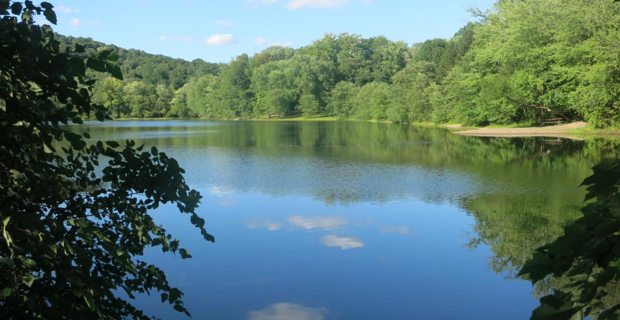 Ramapo Valley County Reservation Lake