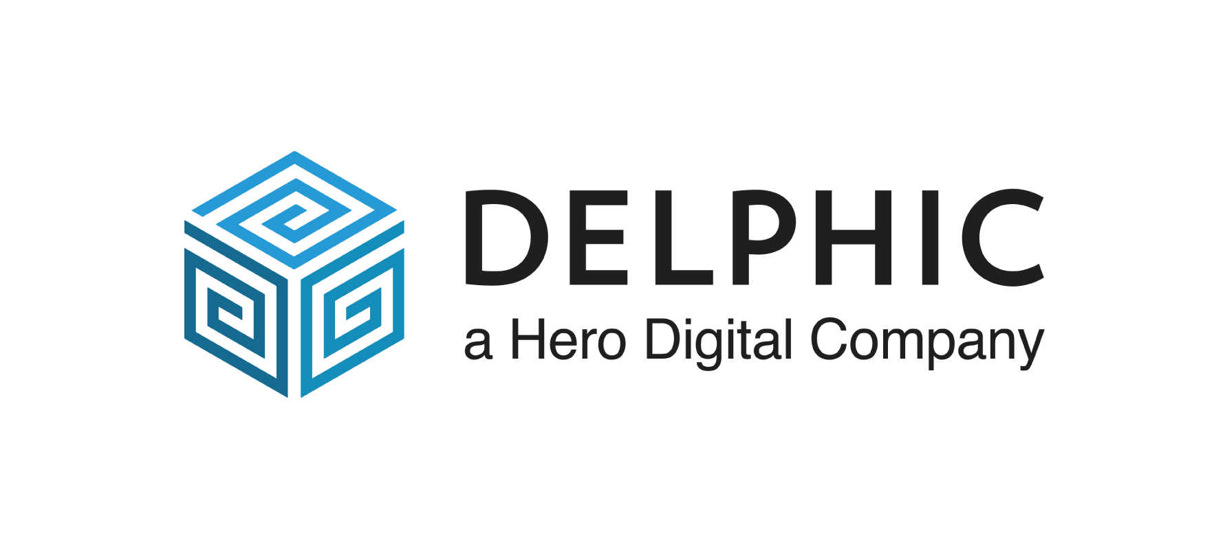Delphic a Hero Digital Company logo