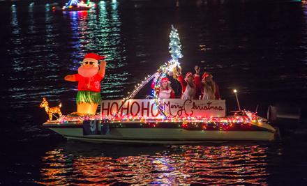 Parade of Lights HO HO HO 2014 by Tony Webster