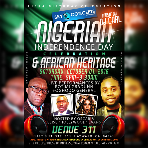 Nigerian Independence Day Celebration + African Heritage