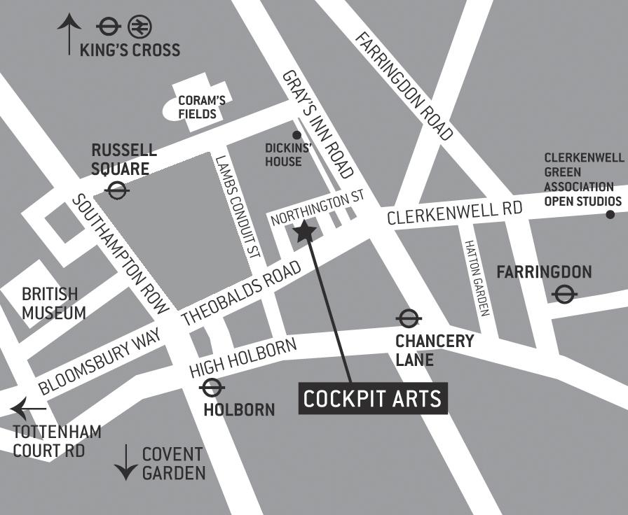Cockpit-Arts-Venue-Map
