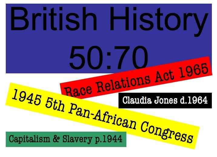 British History 50 70