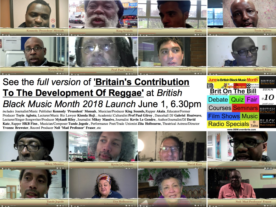 Britains Contribution To Reggae