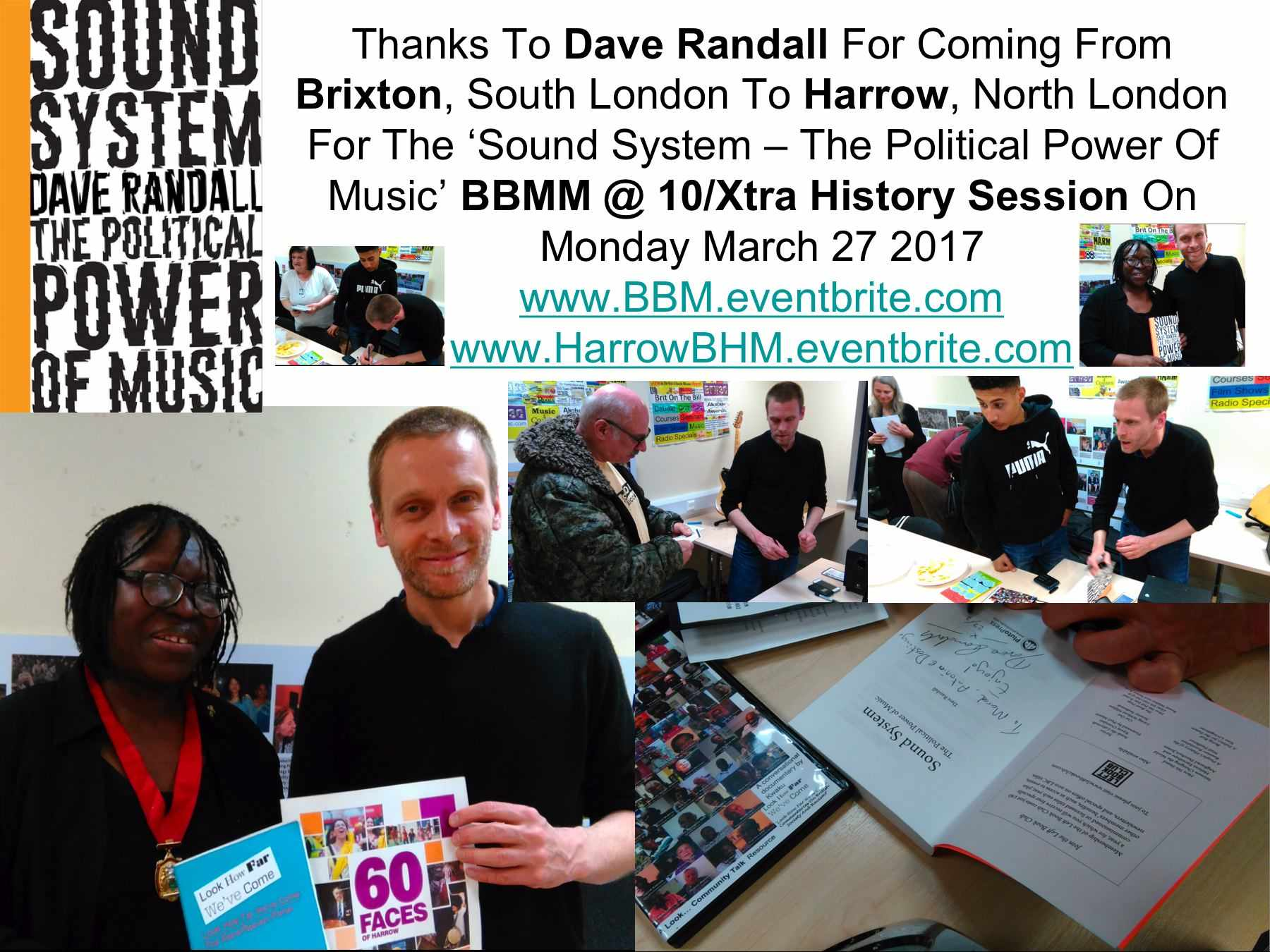 Dave Randall At Xtra History Session montage