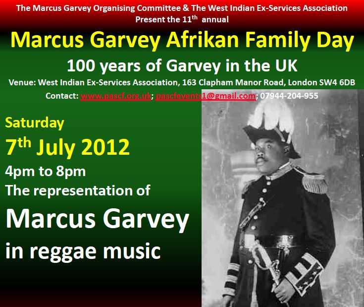 Garvey rep in reggae