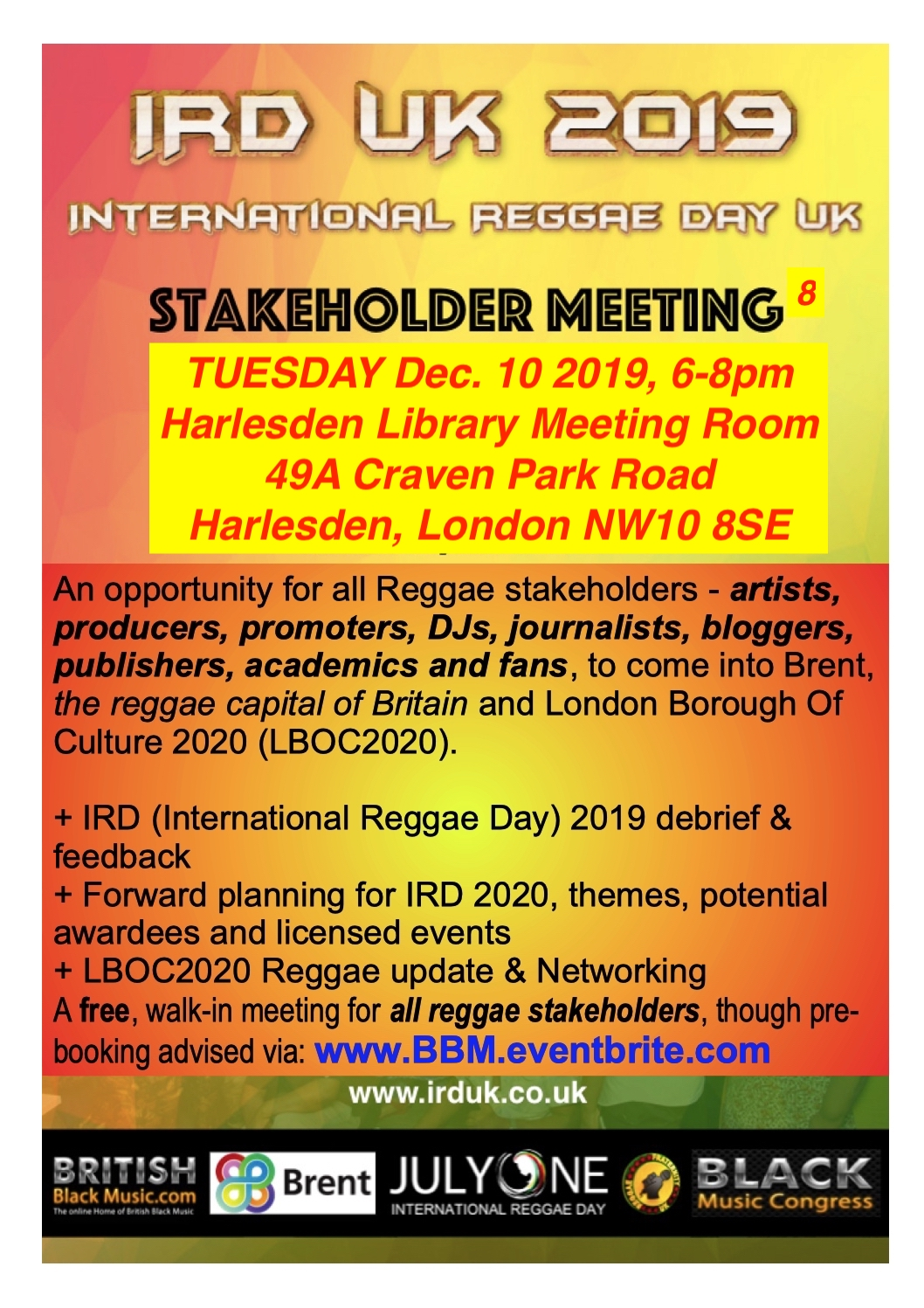IRD Stakeholders 8