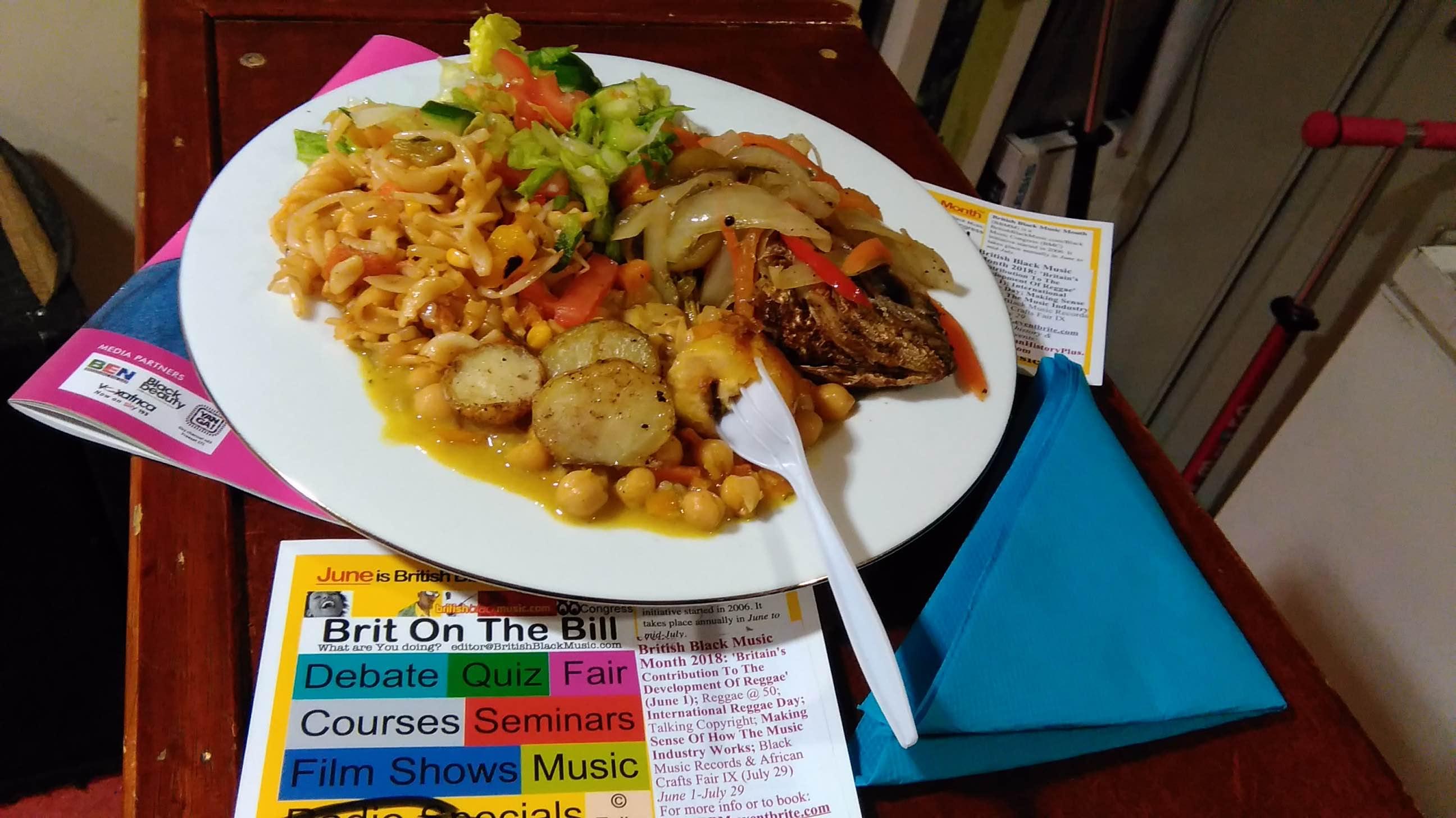 Monks Park Cafe Meal