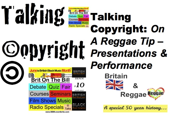 Talking Copyright Reggae