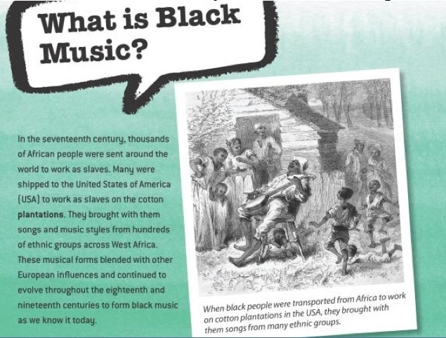 what is black music