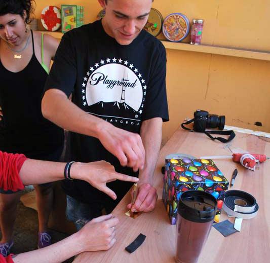 making a pinhole camera
