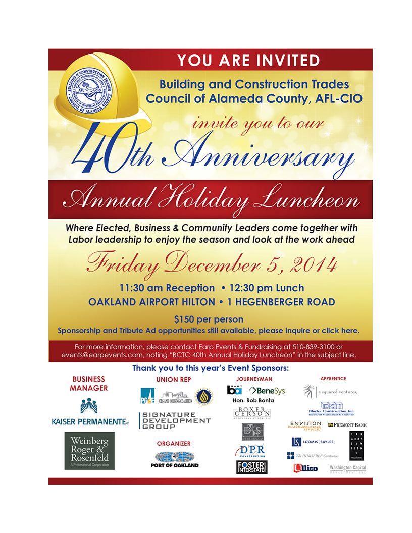BCTC Holiday Luncheon 2014