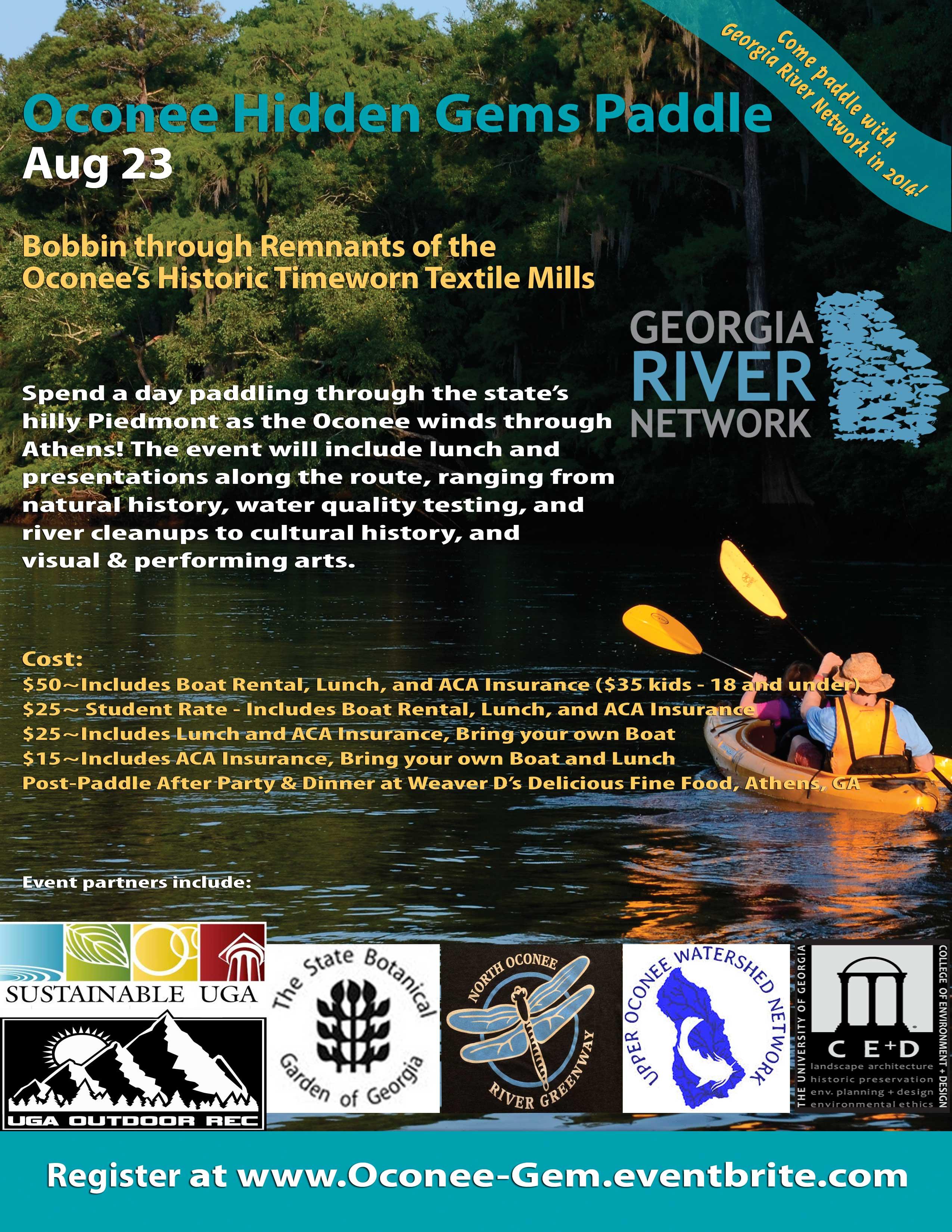 Oconee River Hidden Gem Paddle