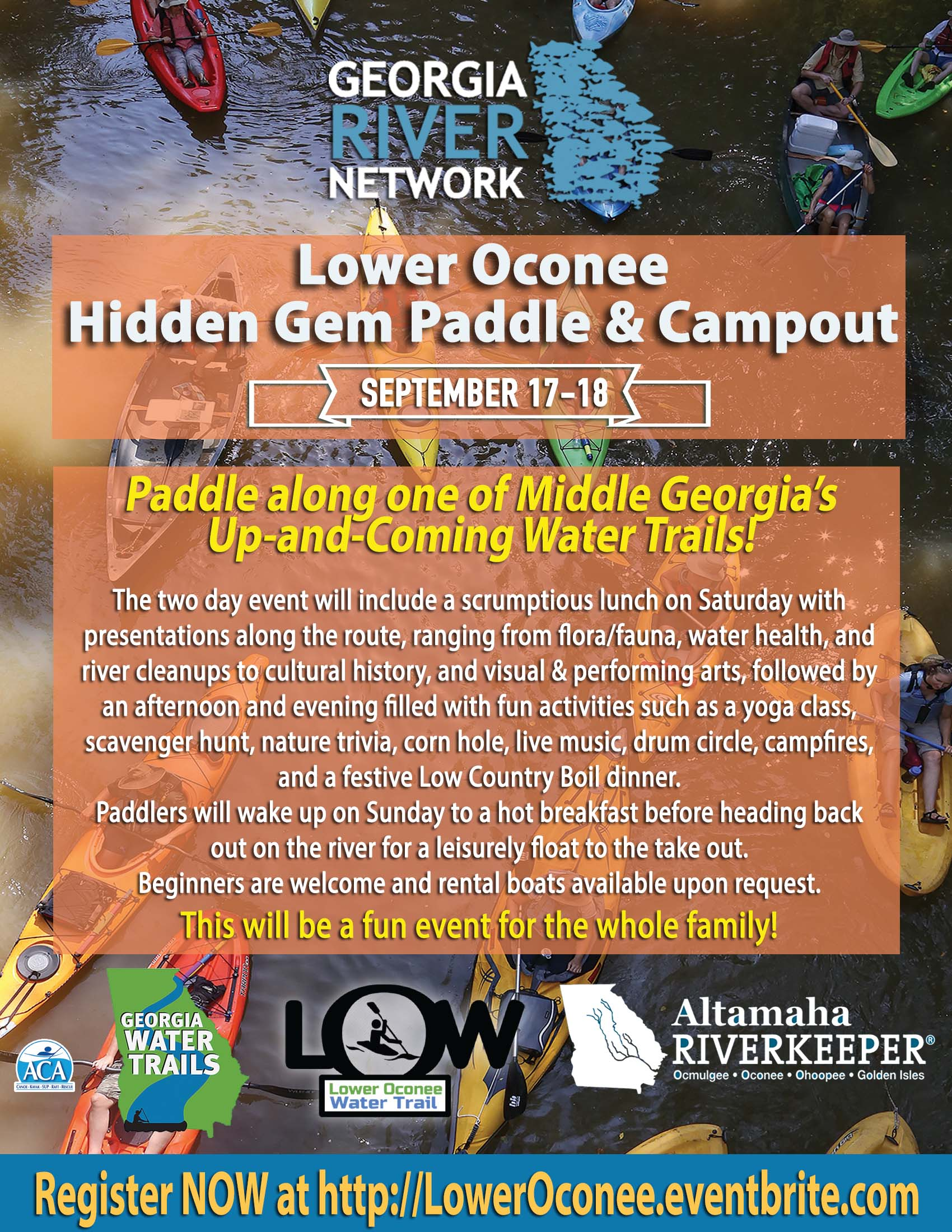 Lower Oconee Hidden Gem Paddle & Campout