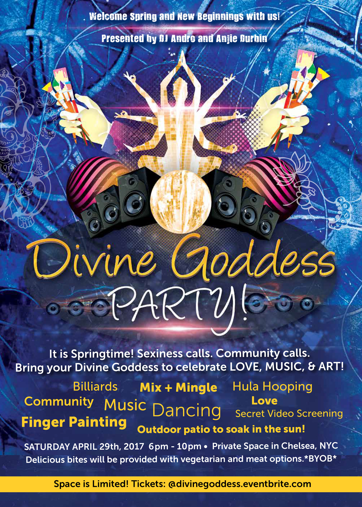 Divine Goddess Spring Party NYC
