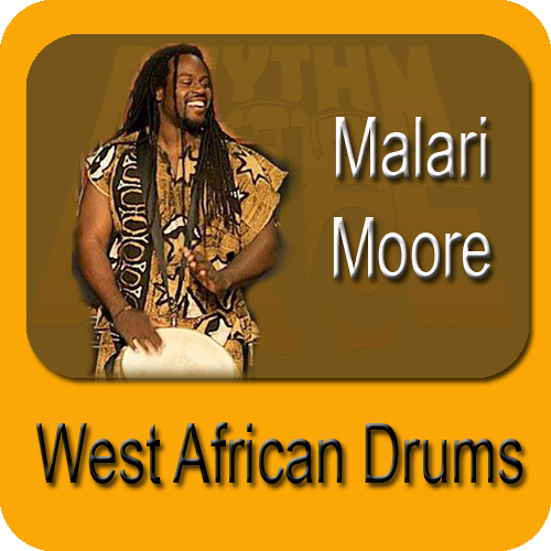West African Drum Class with Malari Moore (6 Week Session)