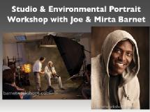Studio and Environmental Portrait Class