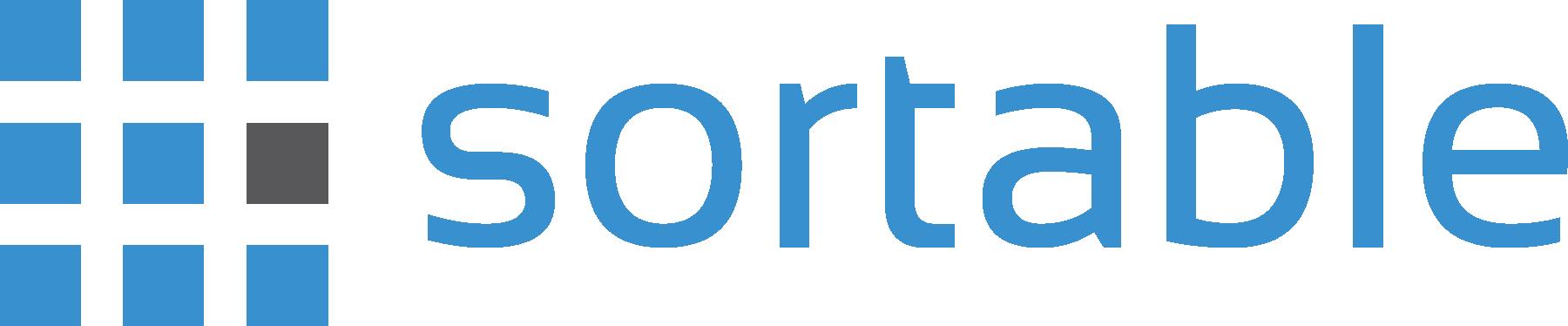 Sortable Logo