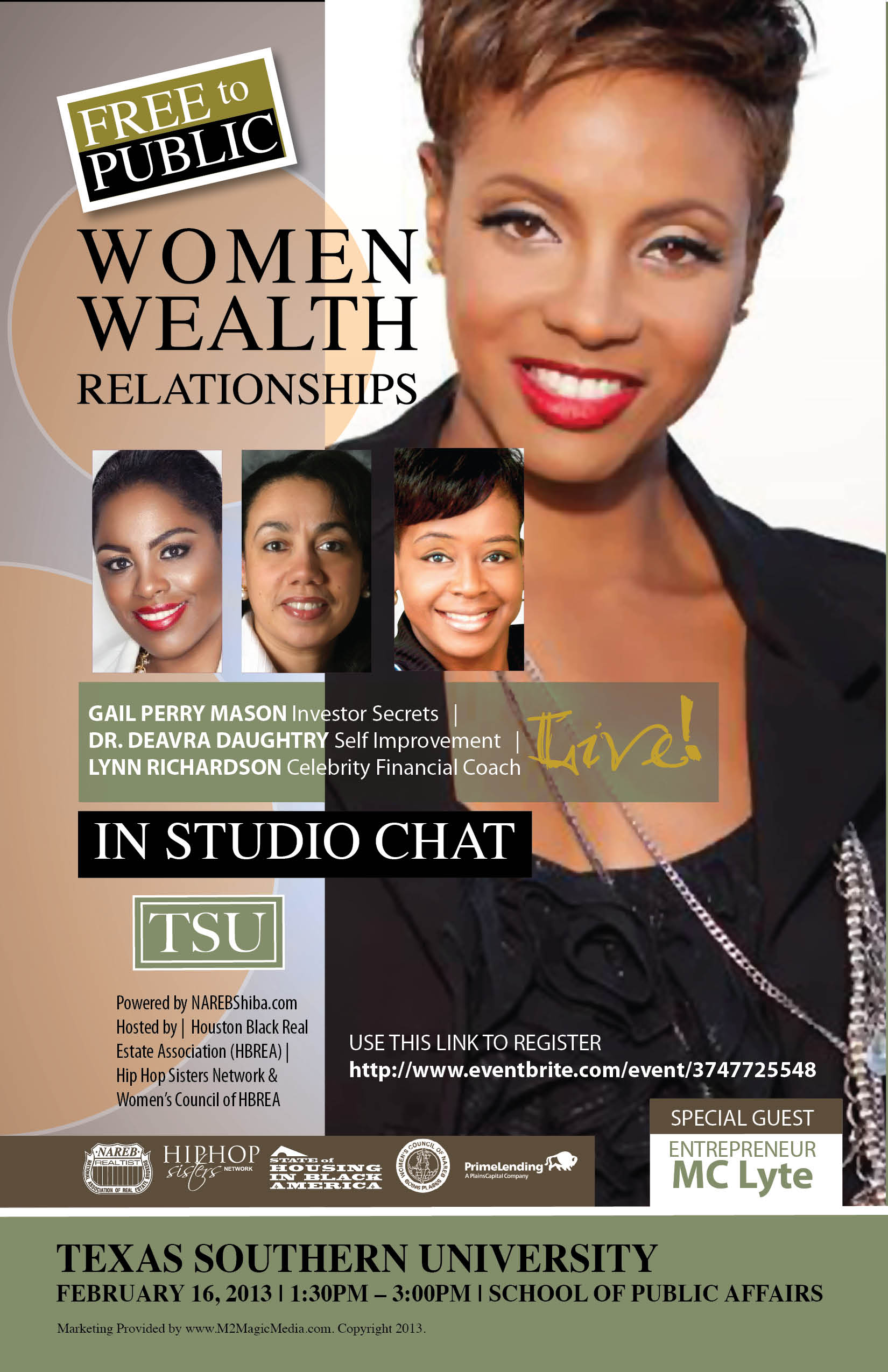 Women Wealth & Relationships w MC Lyte