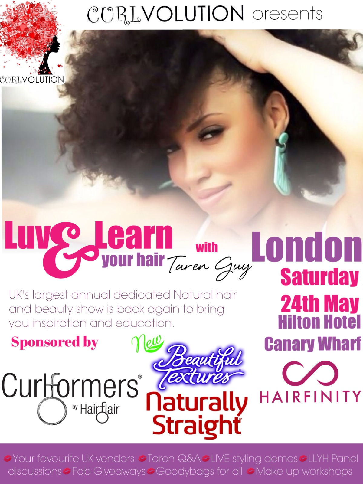 Curlvolution Presents Luv & Learn Your Hair with Taren Guy ...