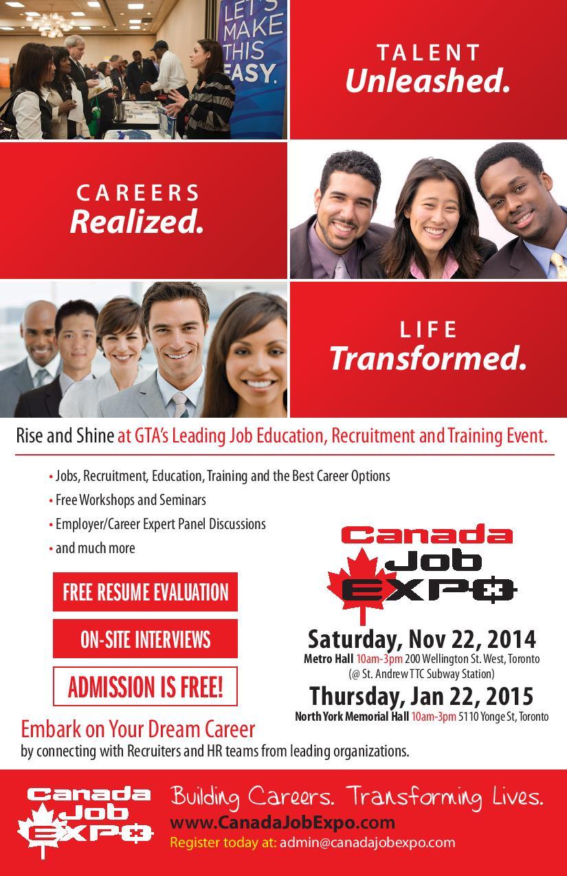 Canada Job Expo