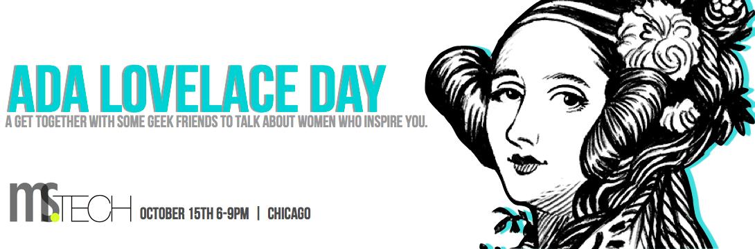 Ms.Tech Celebrates Ada Lovelace Day