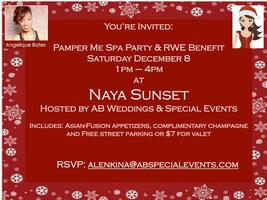 """Pamper Me"" Spa & RWE Benefit/ Angelique Bates B-Day Party..."
