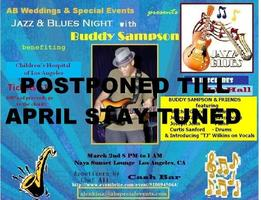 Jazz & Blues Night with Buddy Sampson/Friends Benefiting...