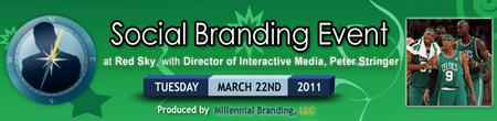 Social Branding Event w/ Boston Celtics' Interactive Media...