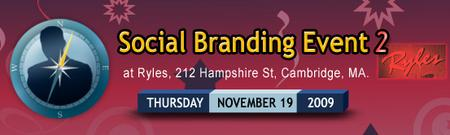Social Branding Event - Cambridge 11/19