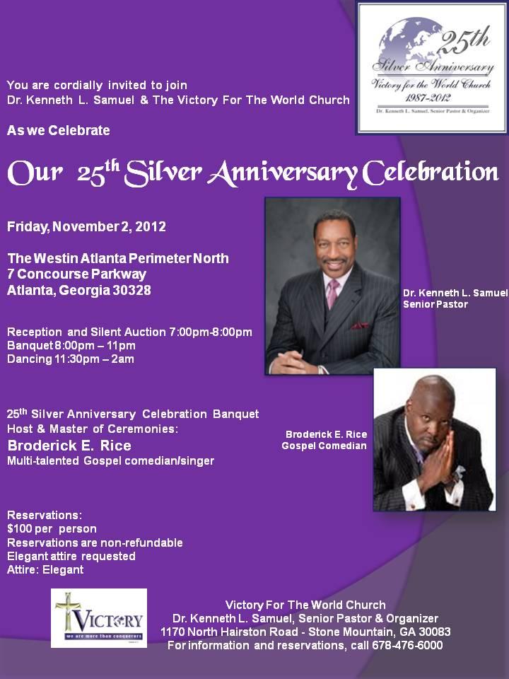 25th Silver Anniversary Banquet