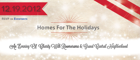 Homes For The Holidays: An Evening Of Charity with...