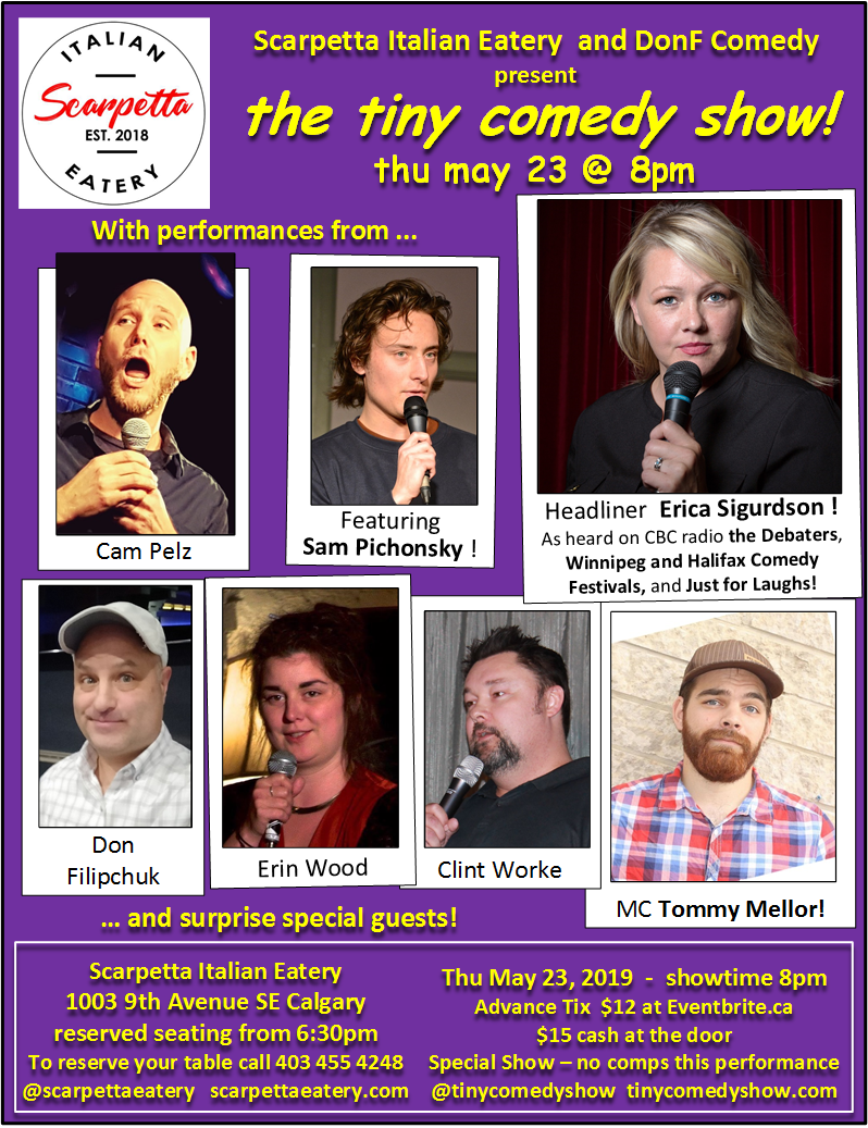 tiny comedy show - Thu May 23, 2019