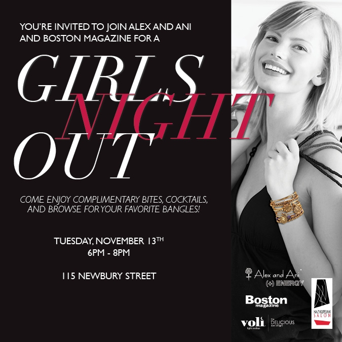 A Girls Night Out with Alex and Ani