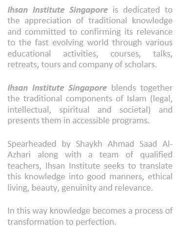 Ihsan Institute Singapore Events | Eventbrite