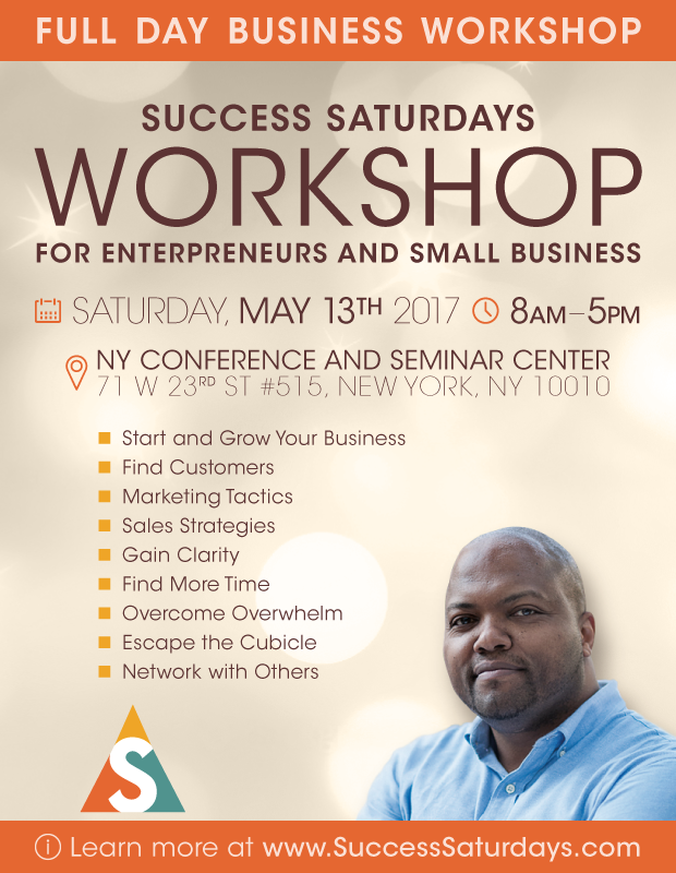 Success Saturdays for Entrepreneurs and Small Business