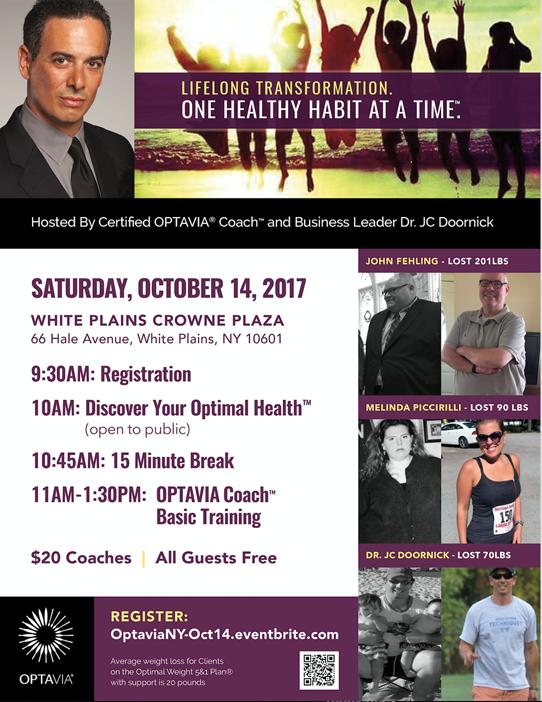 OPTAVIA NY Oct 14