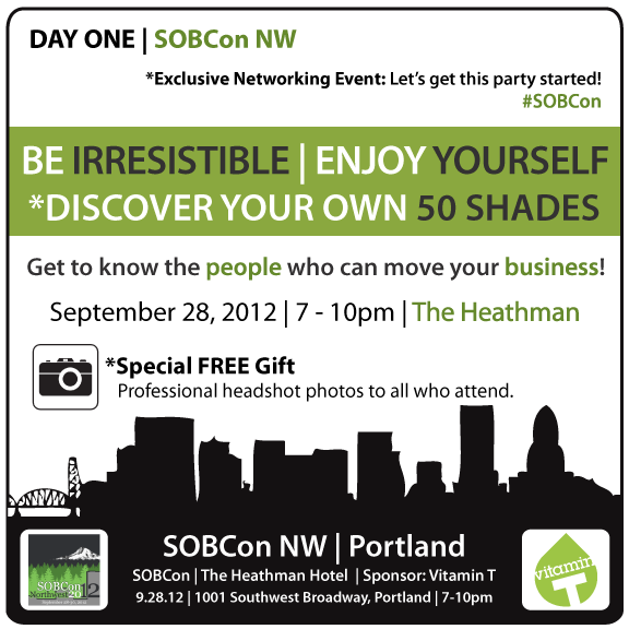 SOBConNW Networking Event September 28