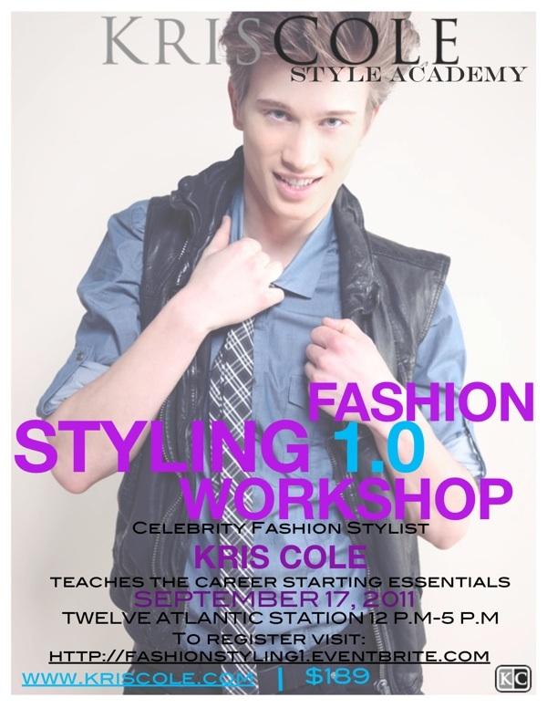 Fashion Styling 1.0 Workshop