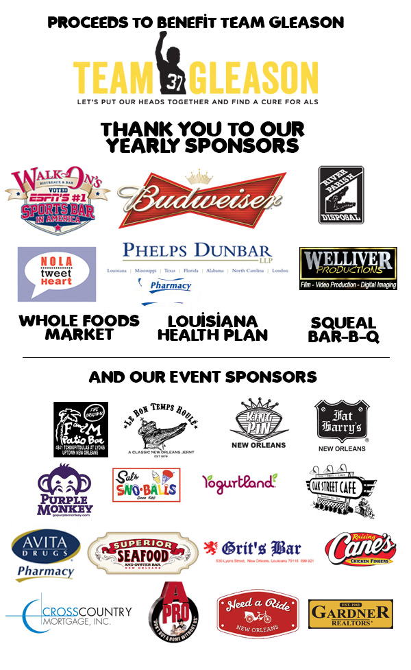 Ball Crawl Sponsors