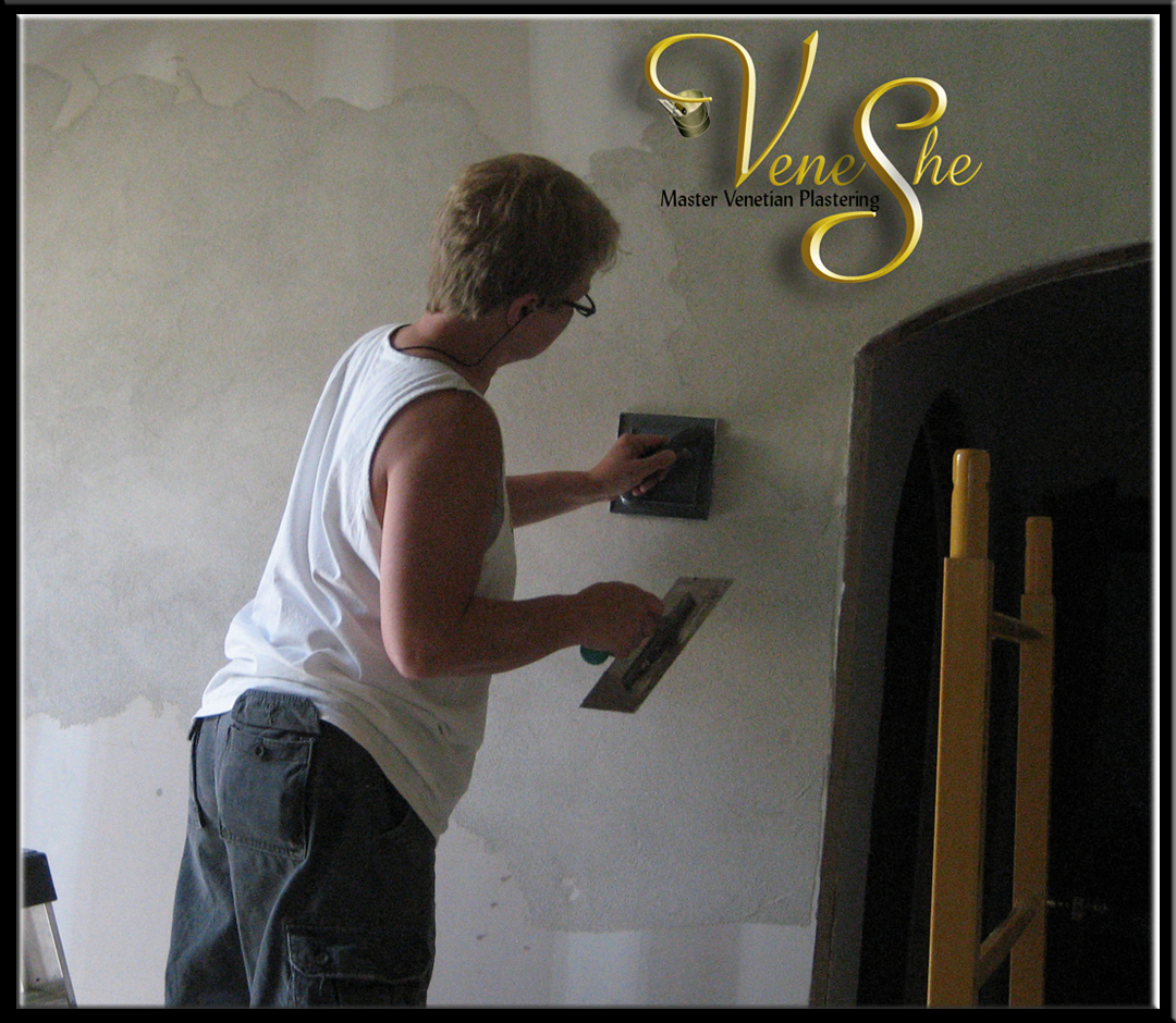 learn to apply venetian plaster