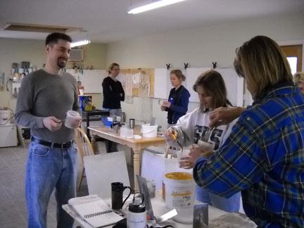 learn venetian plastering techniques