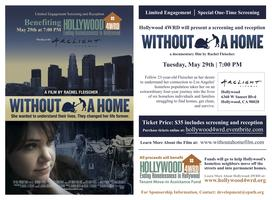 'Without A Home' Screening to Benefit Tenant Move-in...