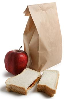Brown Bag photo illustration
