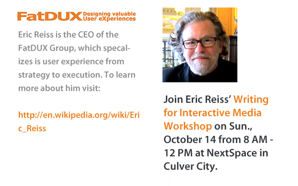 Eric Reiss - Writing for the Web