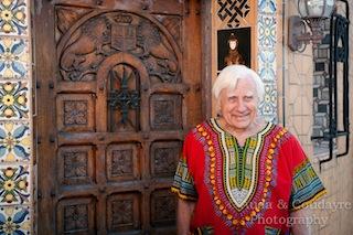 GEORGE AT DOOR