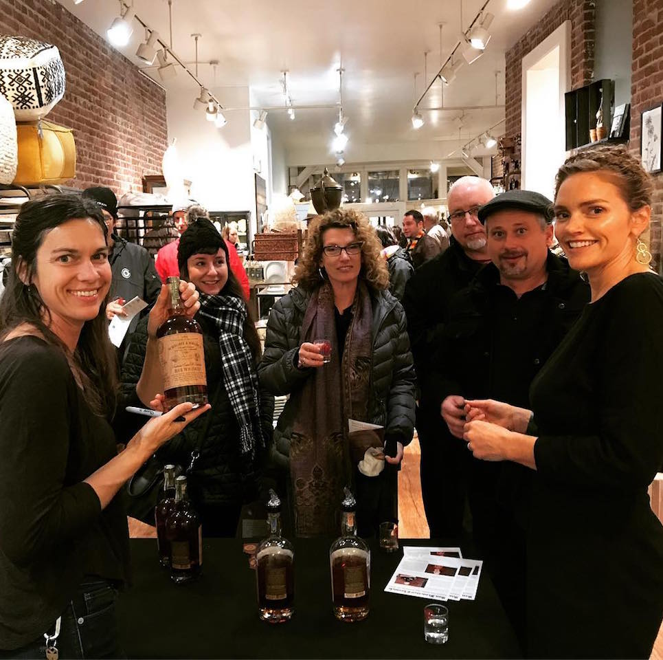Wright & Brown at Whiskey Stroll 2018