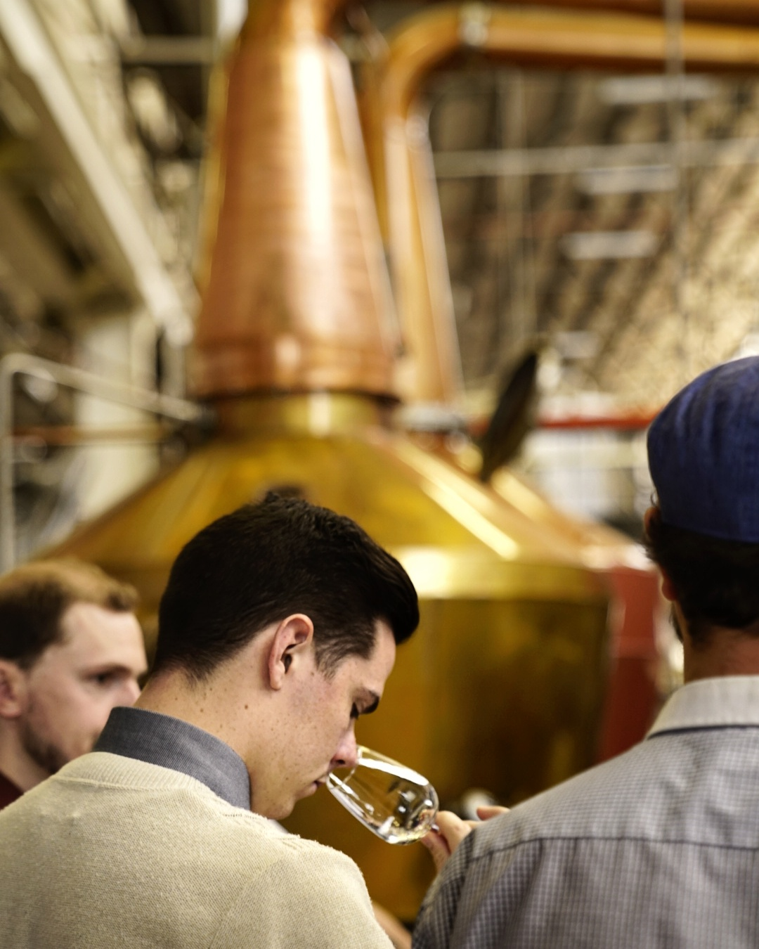 Tasting melbourne whisky on a tour in Port Melbourne